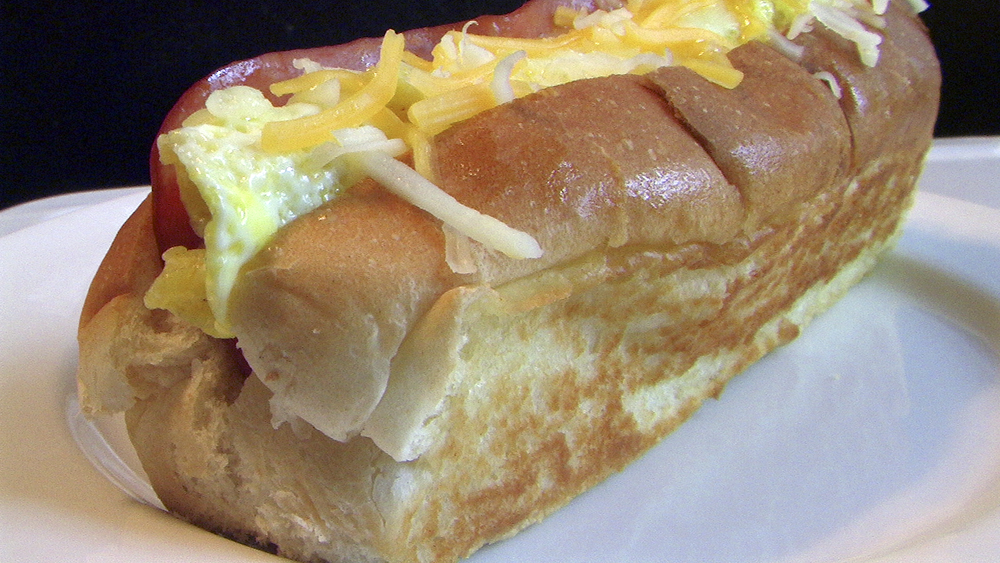hot dog breakfast